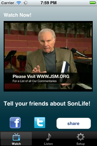 Image of SonLife TV for iPhone
