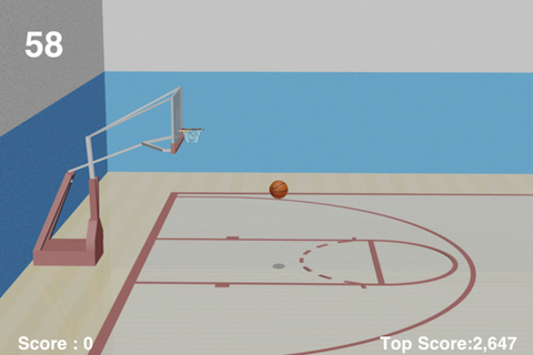 Screenshot BasketBall Hoops +