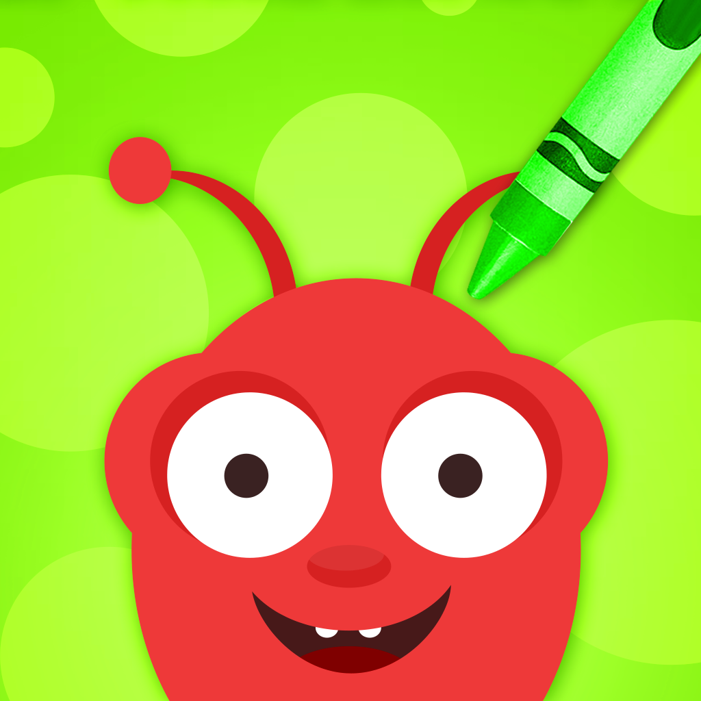 Doodle Fun Bugs Free - Preschool Coloring and Drawing Game for Kids
